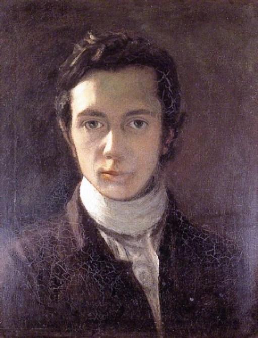 Self portrait  *oil on canvas  *70 x 60 cm