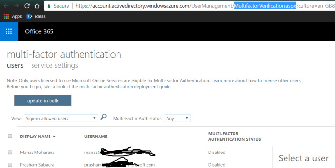 fig2_MFA User Management MultiFactor Verification Page