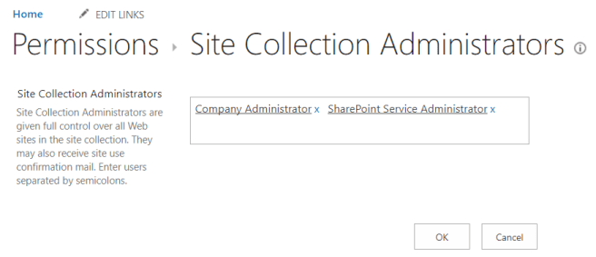 fig8 site collection administrators