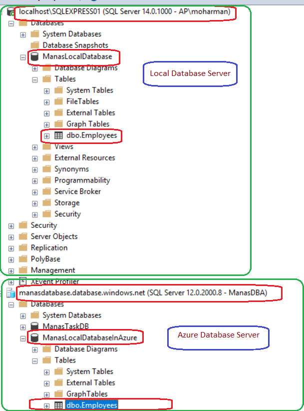 Azure -Import Local Database To Azure_6