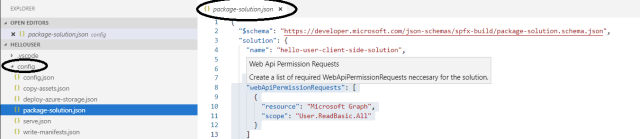 Office 365 - SharePoint Online - Consuming Graph APIs in SPFX component
