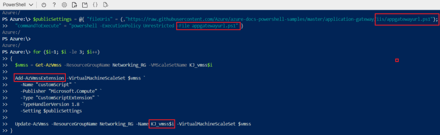 Azure – Networking – Part 7 – Create An Application Gateway