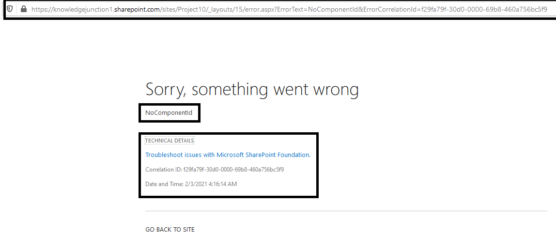 "M365 - SharePoint Online - Exception ""NoComponentId"" while creating new client side page in Site Pages Library using CSOM"