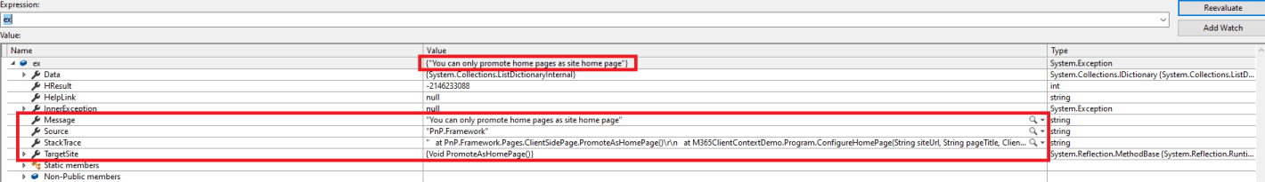 M365 - SharePoint Online - Error-You can only promote home pages as site home page - error while calling ClientSidePage.PromoteAsHomePage() in CSOM