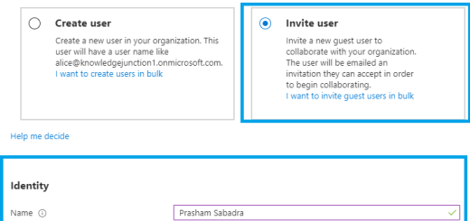 Inviting guest users