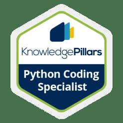 Python Coding Specialist Badge