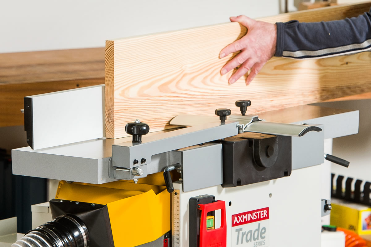 Jointer Thicknesser Combo | WoodWorking