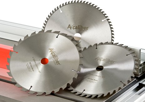 Choose the right Axcaliber saw blade for the task