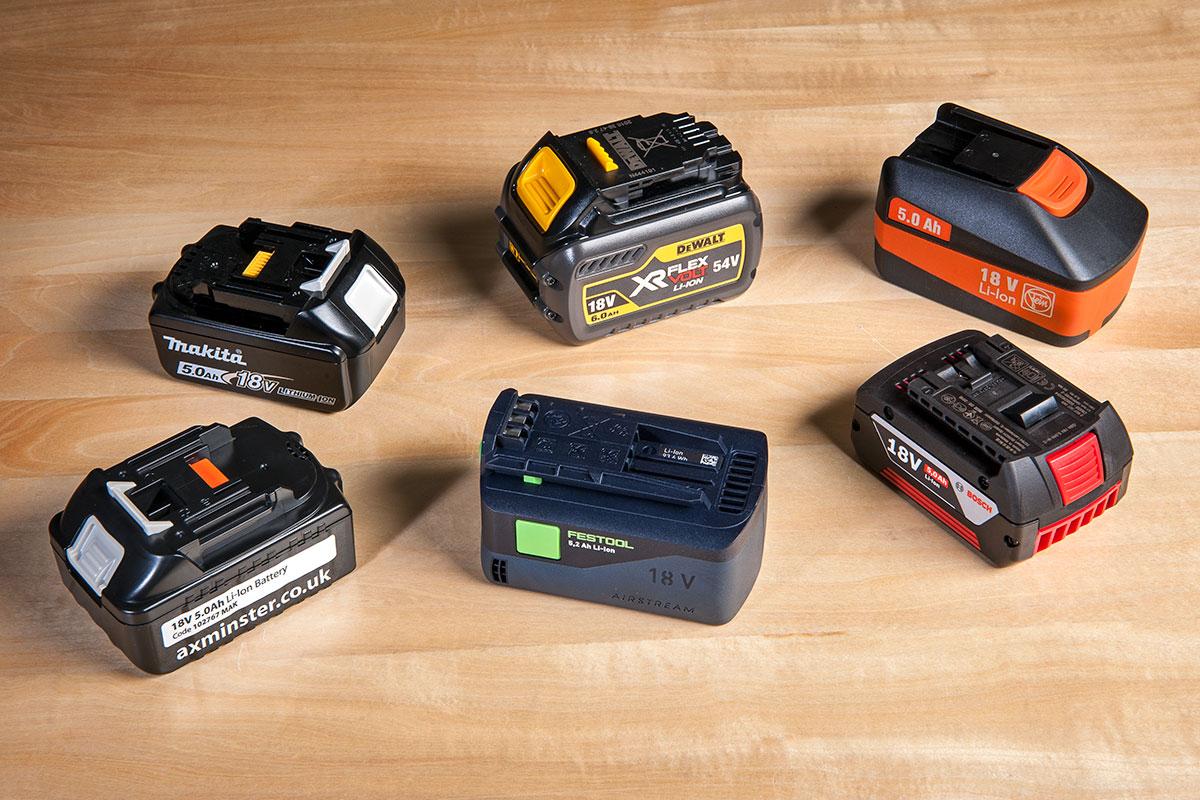 hight resolution of power tool batteries