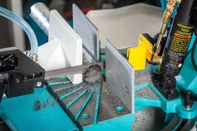 "Axminster Engineer Series 7"" Dual Mitre Metal Cutting Bandsaw"