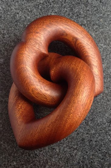 Winner - Wooditorknot, linked hearts