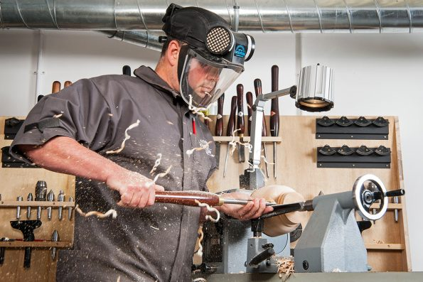 PPE for woodturning
