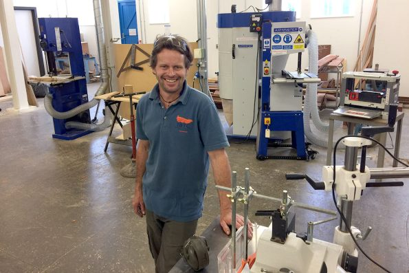 Machinery installation at IBTC Portsmouth
