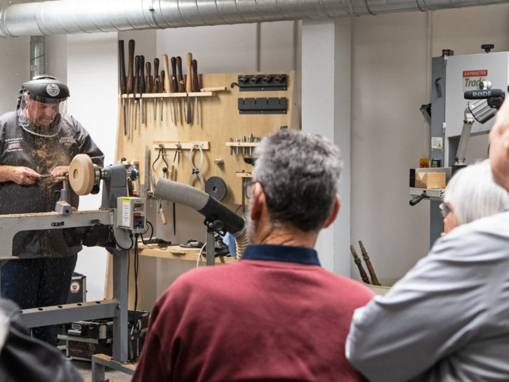 The Blind Woodturner Tour