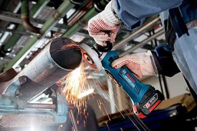 Bosch cordless angle grinder
