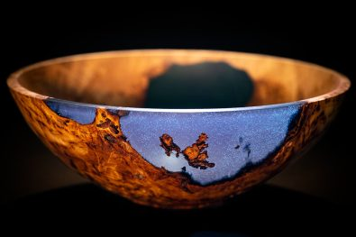 Wood & Resin Turned Bowl by Colwin Way