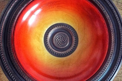 Coloured bowl