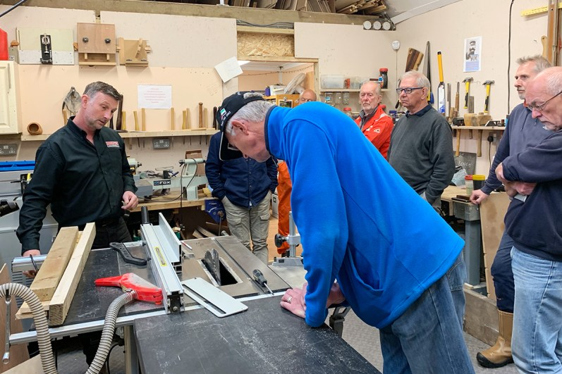 Table saw training