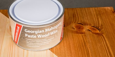Georgian Mahogany Wood Wax