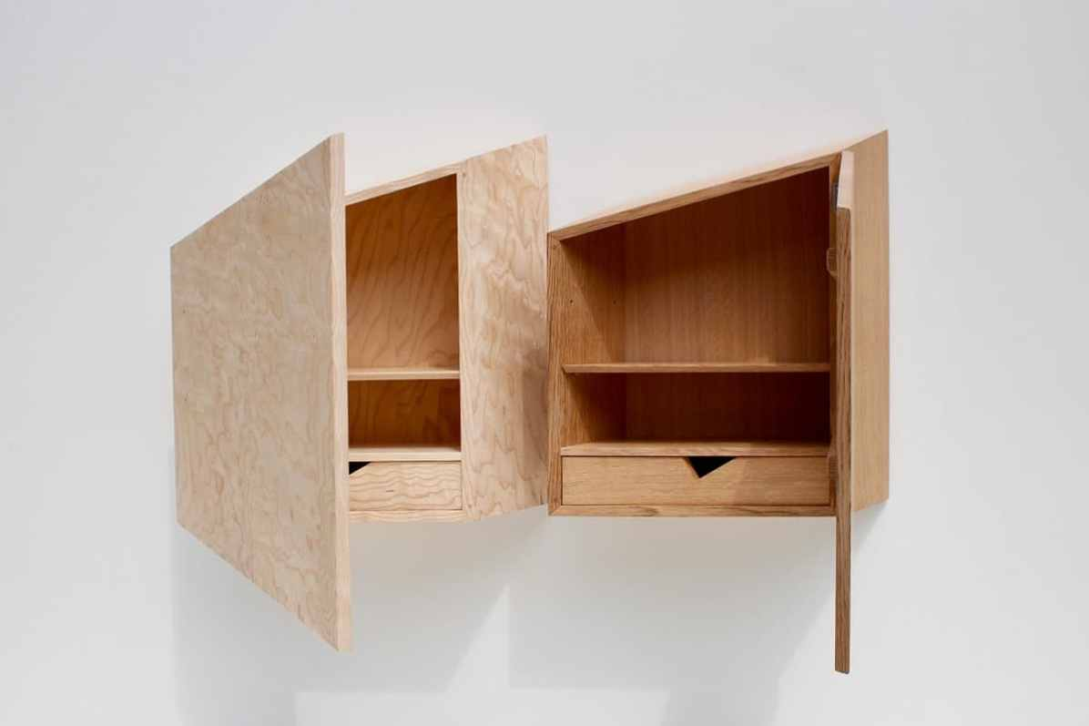 Jack Bibbings' Iso Cabinets are on the shortlist for the Bespoke Award