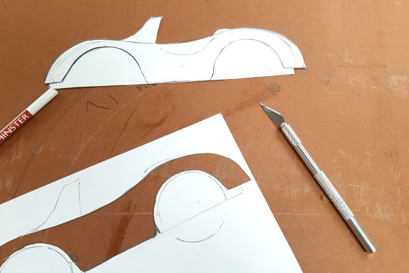 Cutting the templates