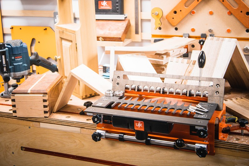 A previous Woodworking Wisdom session - UJK Dovetail Jig
