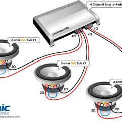 Bridged Mono Wiring Diagram For Toyota Radio Car Subwoofer Rules | Learning Center Sonic Electronix