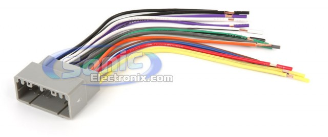 radio wiring harness orange wire