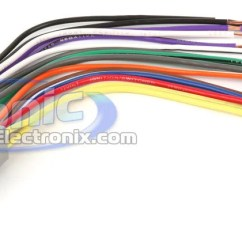 Basic Car Stereo Wiring Diagram Mg Zr Radio Harness Color Standards Sonic Electronix