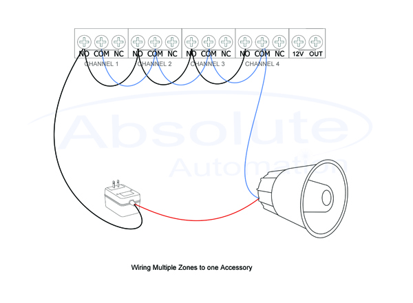 dsc alexor wiring diagram craftsman mower deck parts alarm siren -