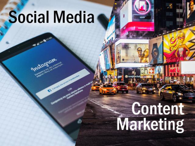 Half Social Media - Half Content Marketing