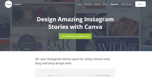 Canva Instagram
