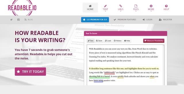 Readibility Score
