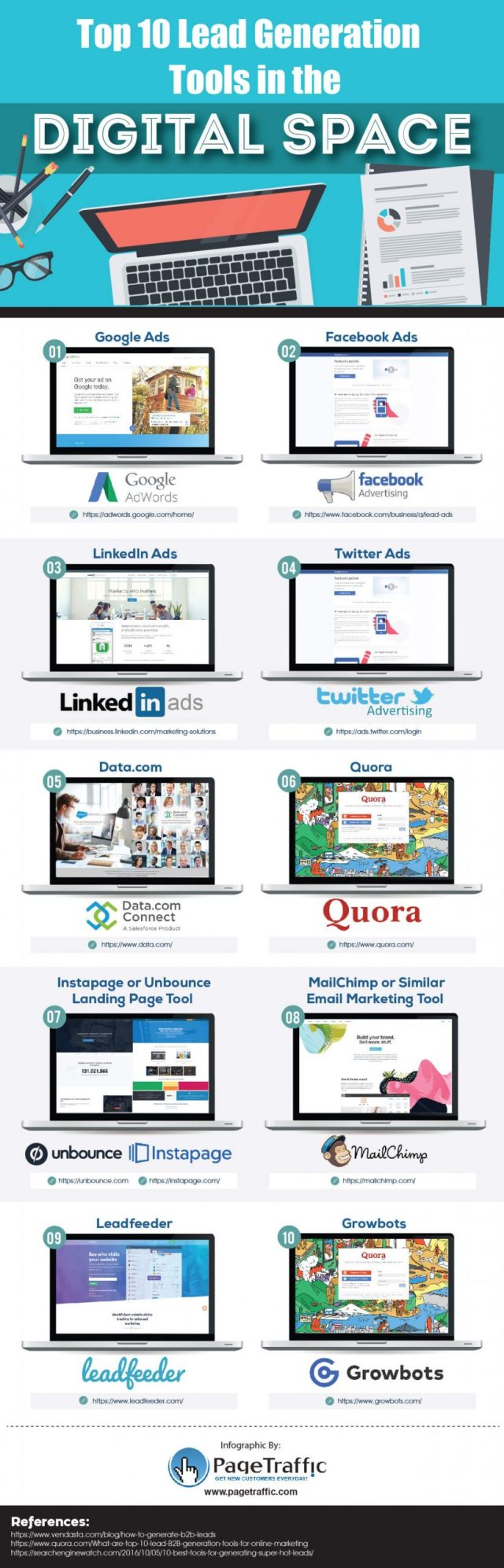 Lead Gen Tools Infographic compressed