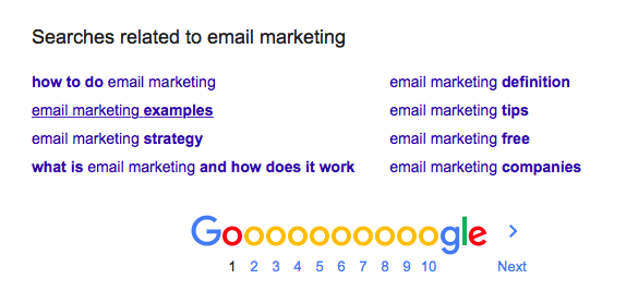 Searches related to email marketing