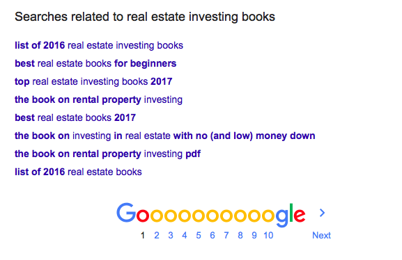 real esate investing books