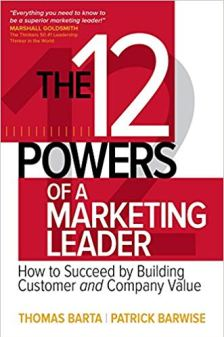 The Powers of a Marketing Leader Book