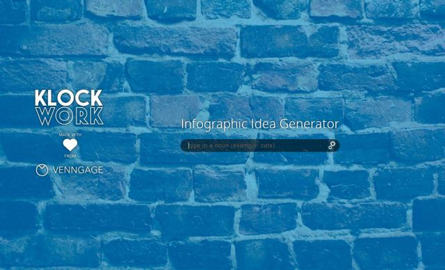 KlockWork Infographic Idea Generator
