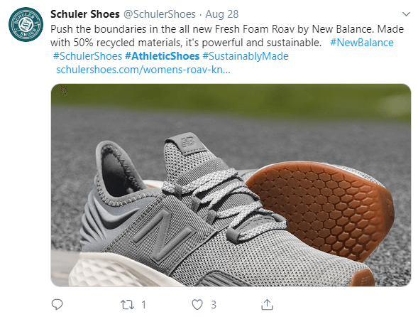 Schuler Shoes on Twitter
