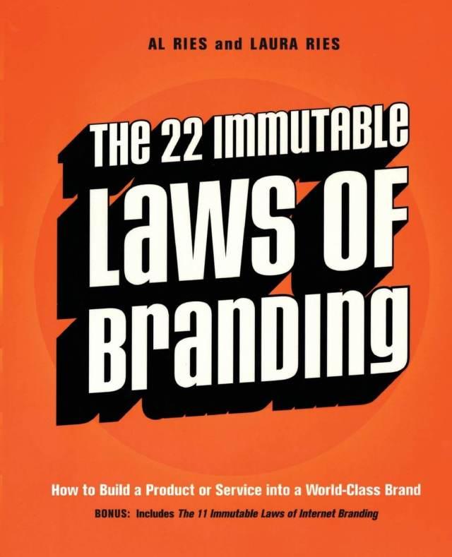 Laws of Branding Book
