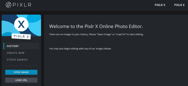 Pixlr X