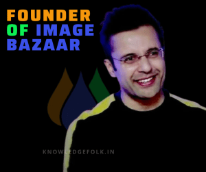 Image bazaar Founder and ceo