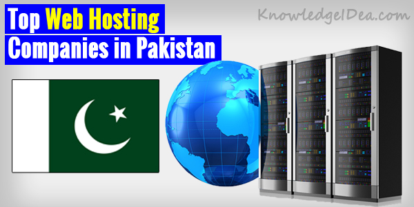 Top 5 Web Hosting Companies in Pakistan