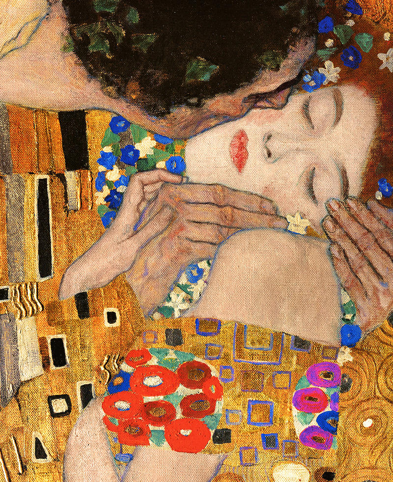 Gustav Klimt The Kiss Painting - Knowledge Lover - Gaurav Dhiman