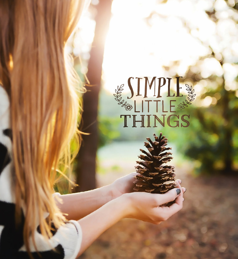 Simple Little Things - Girl in the Woods