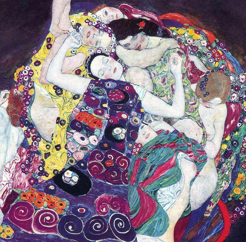 gustav klimt the virgin 1913 painting