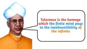Sarvepalli Radhakrishnan quote