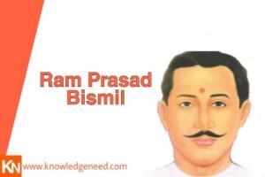 Ram Prasad Bismil