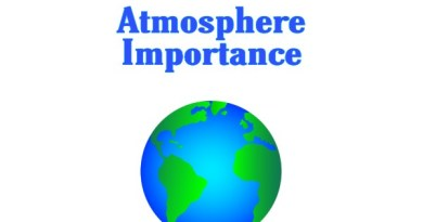 How atmosphere is important for life on earth