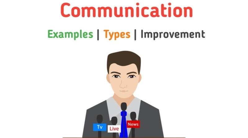 Public Communication example